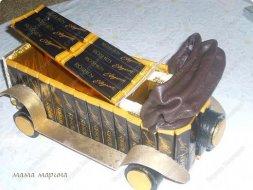 Подарки из конфет на 23 февраля своими руками - машина
