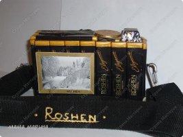 Подарки из конфет на 23 февраля своими руками - фотоаппарат