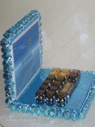 Подарки из конфет на 23 февраля своими руками - ноутбук