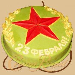 Торт звезда, торт для мужчины, торты из мастики для мужчин