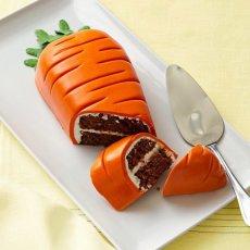 Морковный торт, украшение торта к Пасхе