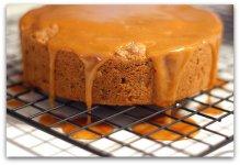 Шоколадно-ореховый торт с карамелью на 23 февраля своими руками