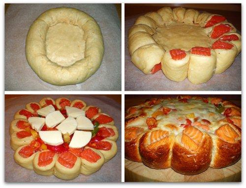 Как сделать красивый верх у пирога