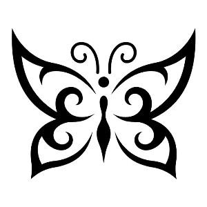 Мастер-класс - Шоколадные бабочки + шаблоны - karanova.