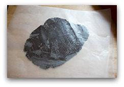 Домашнее шоколадное печенье - раскатайте тесто
