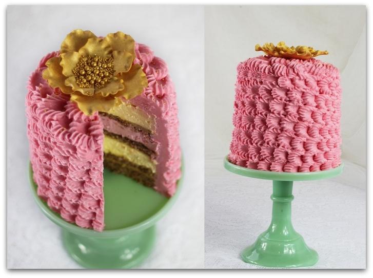 Как красиво украсить торт кремом