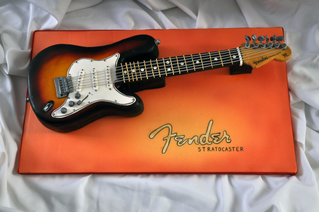 Торт гитара фото