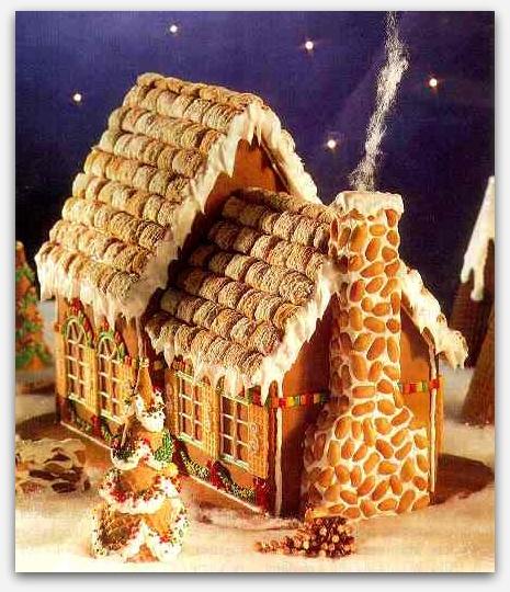 Новогодние идеи пряничный домик