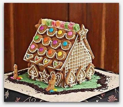 Пряничный домик, новогодние идеи