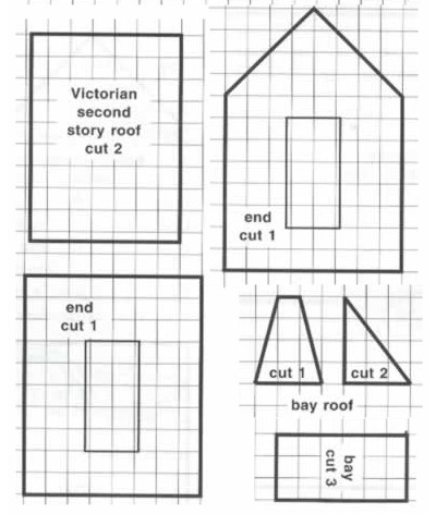 Пряничный домик своими руками, шаблон, мастер-класс