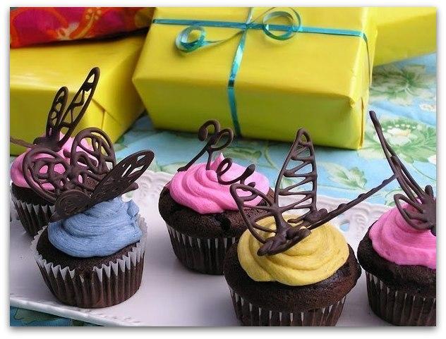Шоколадные бабочки, мастер-класс