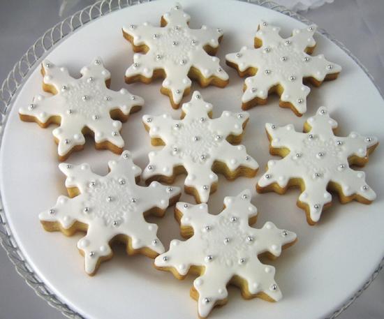 Новогоднее печенье украшение