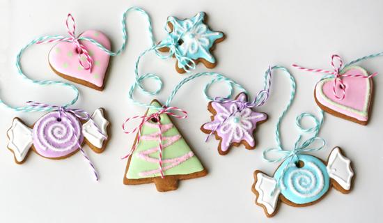 Новогоднее печенье, украшение