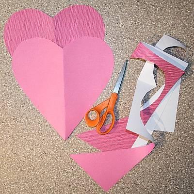 Мастер-класс открытка на День Святого Валентина своими руками
