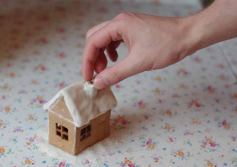 Имбирные пряники, имбирный домик, пряничный домик