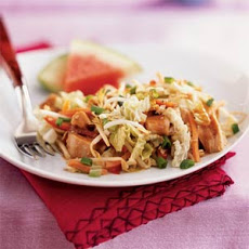Китайский салат из курицы на День Святого Валентина своими руками