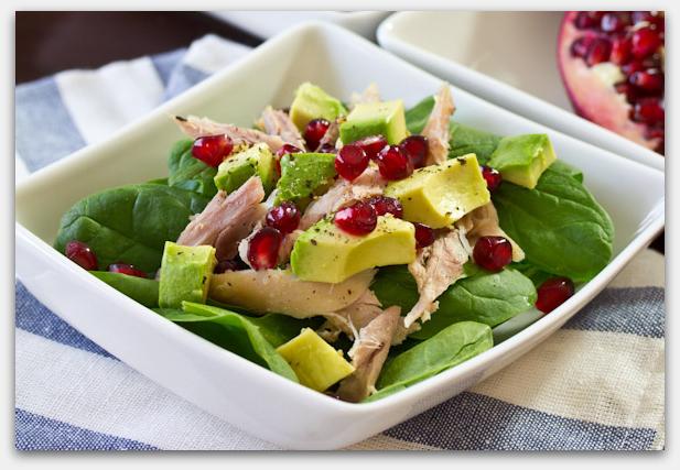 салат курица с авокадо рецепт